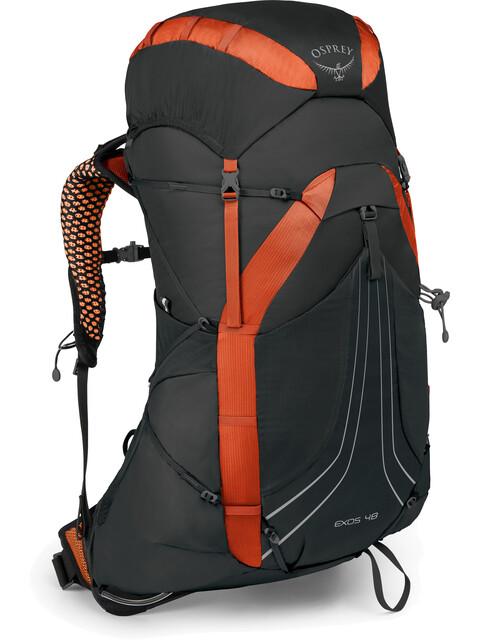 Osprey Exos 48 Backpack Blaze Black